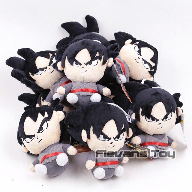 Dragon Ball Z Brinquedos de Pelúcia Son Goku Super Saiyan Deus Cabelo Vermelho/Goku 10 Pingentes Pretos Macios Bonecos De Pelúcia pçs/lote 2 Tipos