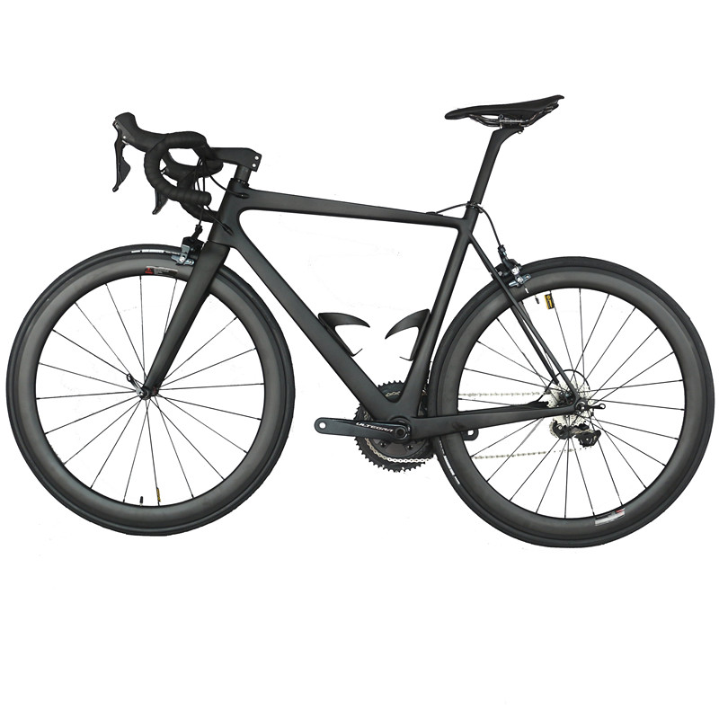 Super Light Complete Bike FM686 Black  22 Speed Integrated Aero Handlebar With Sh1mano R8000 Groupset Carbon Road Bike FM686
