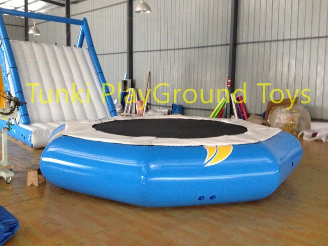 Buy banana boat crazy ufo water trampoline Giant Inflatable
