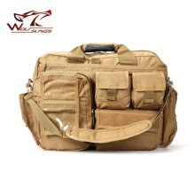 Outdoor Travel Shoulder Bag  Molle Laptop Computer Camera Bag Military Tactical Messenger Bags Tan/ACU 20L