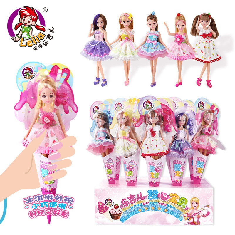 1pcs Kawaii Lelia Doll Fashion Dolls For Girls Toys Joints Can Be Bent Cute Gift Box Toy For Girls Children Kids Birthday Gifts