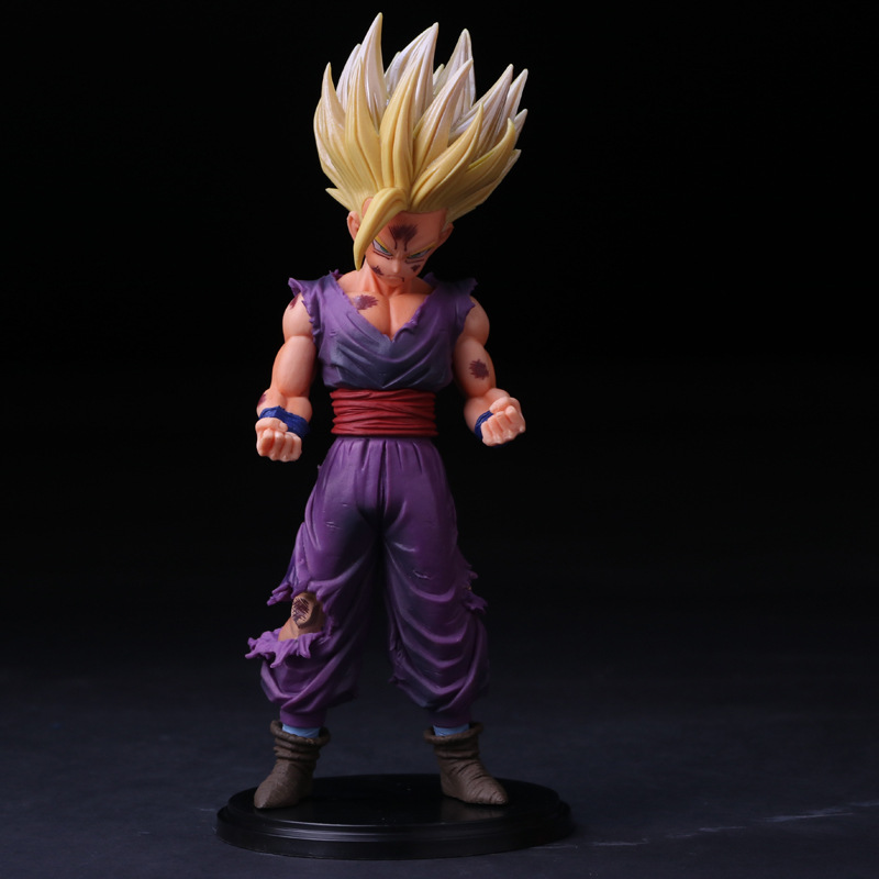 Anime Dragon Ball Z Master Stars Piece The Son Gohan Special Color ver. PVC Action Figure Collection Kids Toys Doll 24cm
