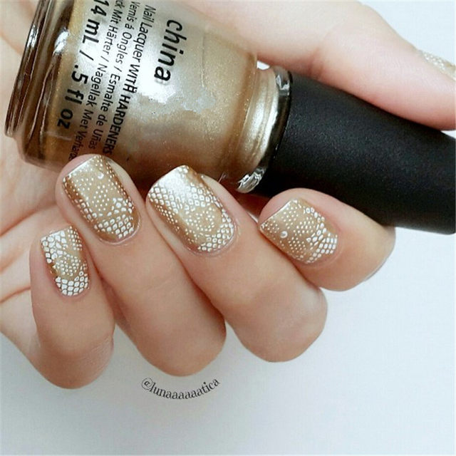 Online Shop 1 Pc Born Pretty Round 55cm Nail Art Stamp Template