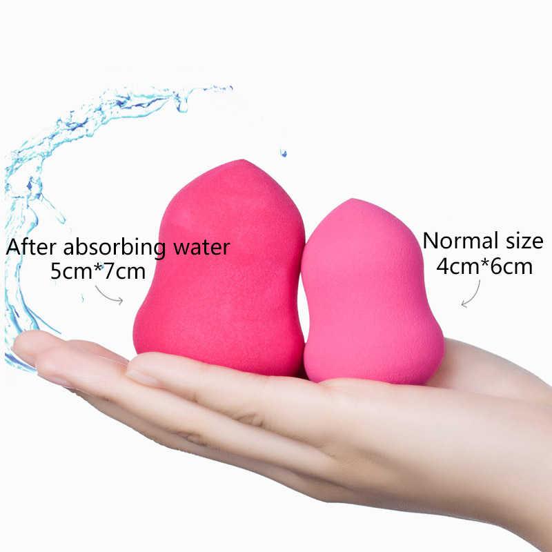 พจนานุกรม Milee ความงามแต่งหน้าฟองน้ำผงพัฟ Smooth Foundation ฟองน้ำสำหรับ Lady Make Up เครื่องสำอางค์พัฟเครื่องมือ 6 สี