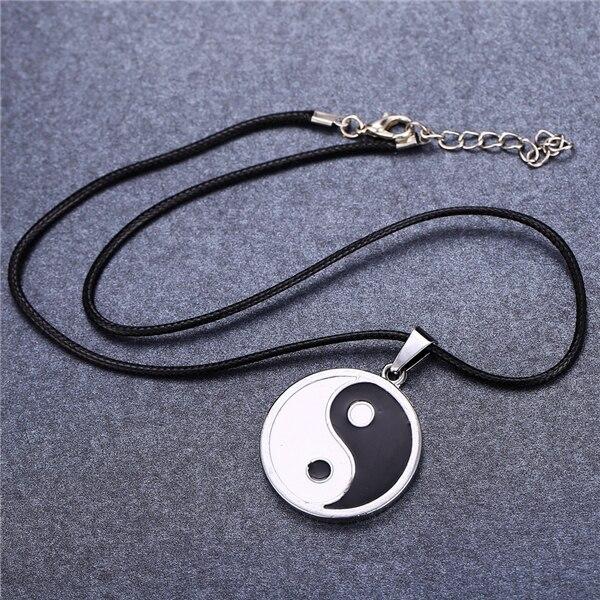 Naruto Yin Yang Statement Necklace