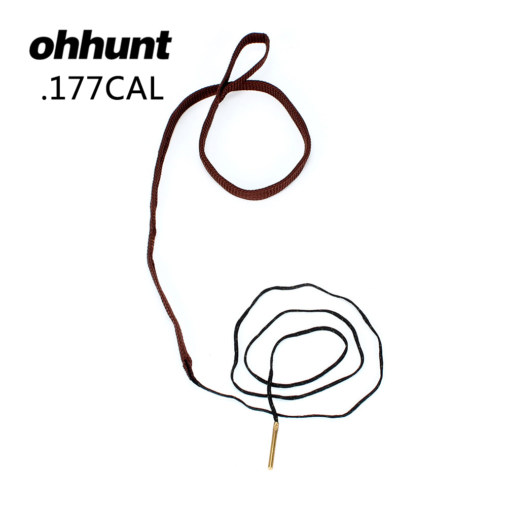 ohhunt Hunting Universal Cleaning Kits Bore Snake.177 Cal