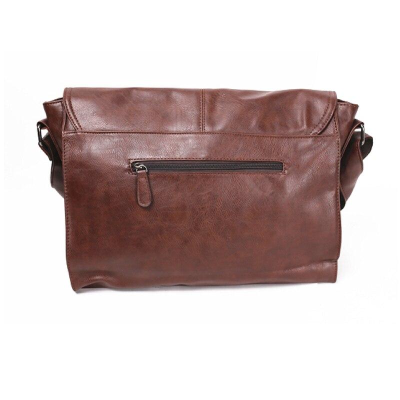 Три кутия мъже пратеник Crossbody чанта - Дамски чанти - Снимка 2