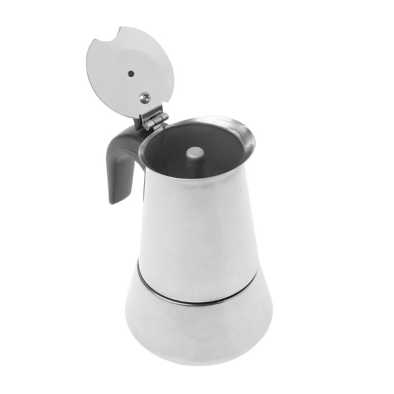 Espresso Coffee Maker Stainless Steel Moka Pot Extractor Percolator Stove Top стоимость