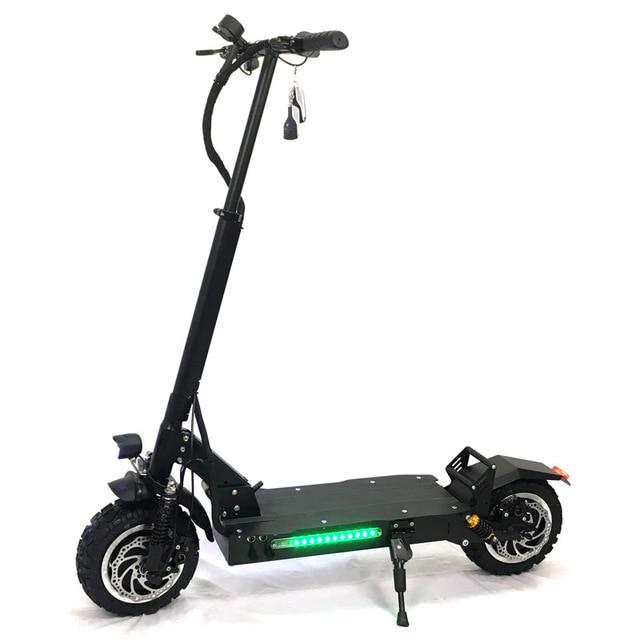 FLJ 11 بوصة الطرق الوعرة سكوتر كهربائي الكبار 60 V 3200 W قوية قوية جديد دراجة بلاستيكية قابلة للطي أضعاف hoverboad دراجة سكوتر