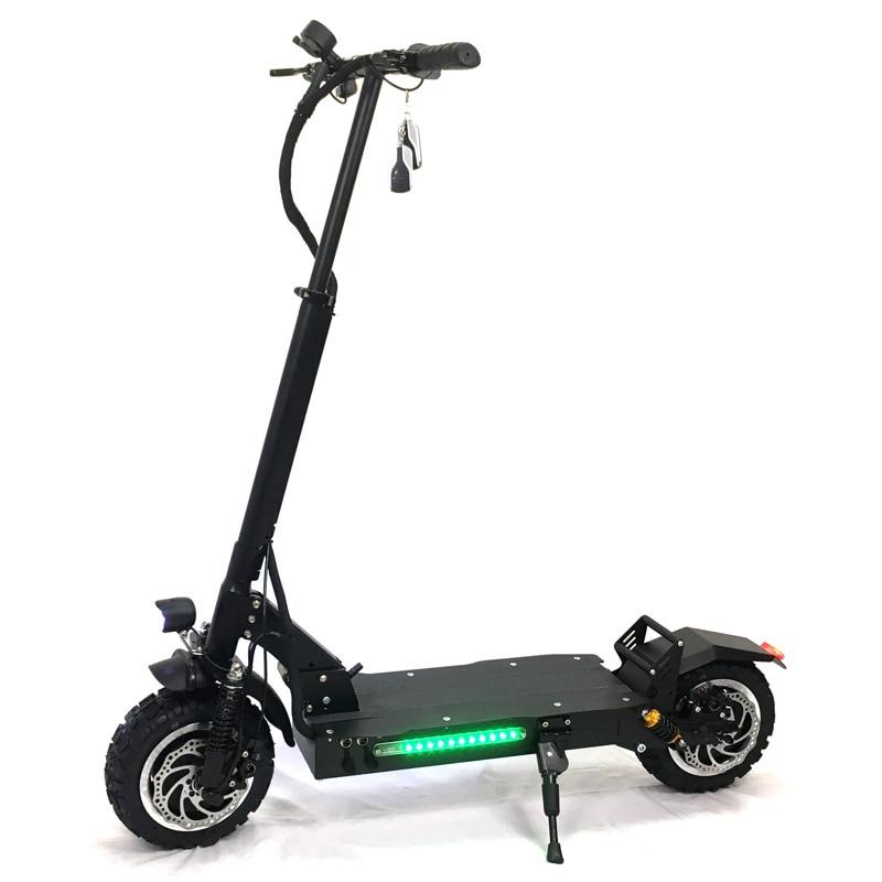Effizient Flj 11 Inch Offroad Elektro-roller Erwachsene 60 V 3200 W Starke Leistungsfähige Neue Faltbare Elektrische Fahrrad Falten Hoverboad Fahrrad Roller Warm Und Winddicht