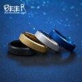 BEIER обручальное кольцо изысканный мужчин и женщин из нержавеющей стали скучный польский моды кольцо высокое качество ювелирных изделий BR-R076