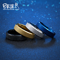 BEIER wedding ring  exquisite men and women stainless steel dull polish fashion ring high quality fashion jewelry BR-R076