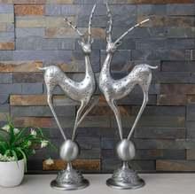 Роскошная бронзовая/Ретро Оловянная декоративная статуя оленя