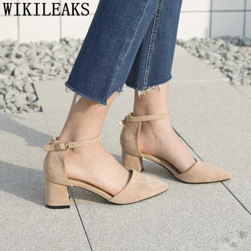 Vrouwen jurk schoenen fetish hoge hakken sexy mary jane schoenen dikke hakken dames pompen zwarte hoge hakken vrouwen party schoenen salto alto