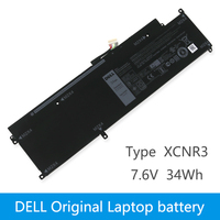 Original Laptop battery For DELL Latitude 13 7370 E7370 WY7CG XCNR3 7.6V 34WH|Laptop Batteries| |  -