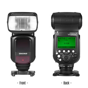 Image 4 - 一眼レフカメラ用永諾 YN968C ワイヤレス Ttl フラッシュスピードライト 1/8000 s HSS 内蔵 Led ライトと互換性 YN622C YN560