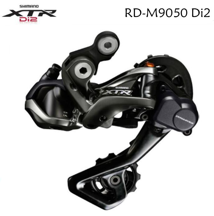цена на Shimano XTR M9050 Di2 Shadow RD+ Rear Derailleur GS/SGS 11-Speed MTB bicycle bike derailleurs RD-M9050