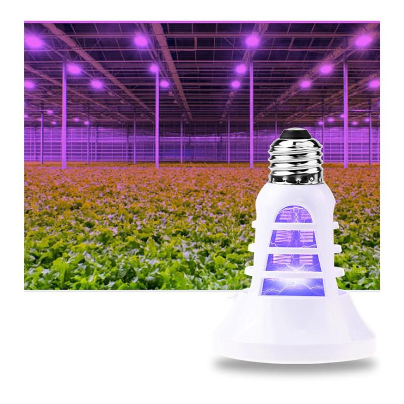 Plant Growing Lamp Insect Killer Mosquito Killer Light Fly Bug Insect Repellent Bulb Plant Light For Indoor Ultraviolet Lamp Z2 телескоп celestron powerseeker 40tt az