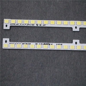 Image 2 - 2piece/lot FOR samsung 32 inch UA32D5000PR lamp BN64 01634A 2011SVS32_456K_H1_1CH_PV_LEFT44 1PCS=44LED 347MM Left and right
