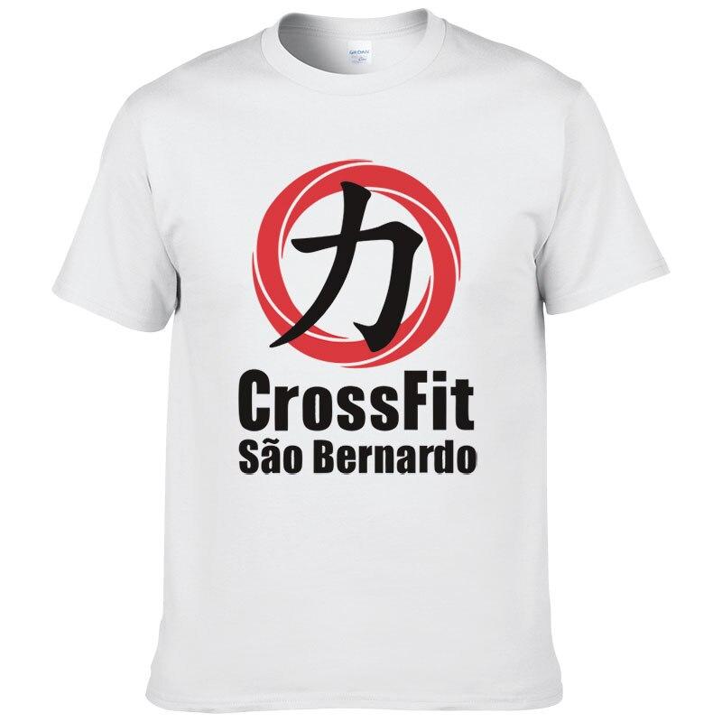 Crossfit Hommes T Chemises courtes manches De Mode Coton O cou T-shirts Bodybuilding T-shirt Butin Marque Fitness T-shirts LLBBC