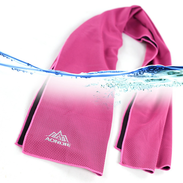 AONIJIE 4041 Instant Cooling Towel Quick Drying Mesh Running 3