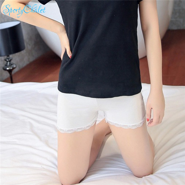 848140ee0a9b SportyChalet Sexy Women Lady Modal Lace Safety Shorts Leggings Yoga ...