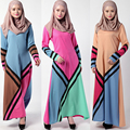 Продажи Ни Один Взрослый Мода Новый 2016 Djellaba Турецкая Абая Халат Мусульманского Арабского Мусульманского Одежда Большие Качели Платье Женщины Малайзия