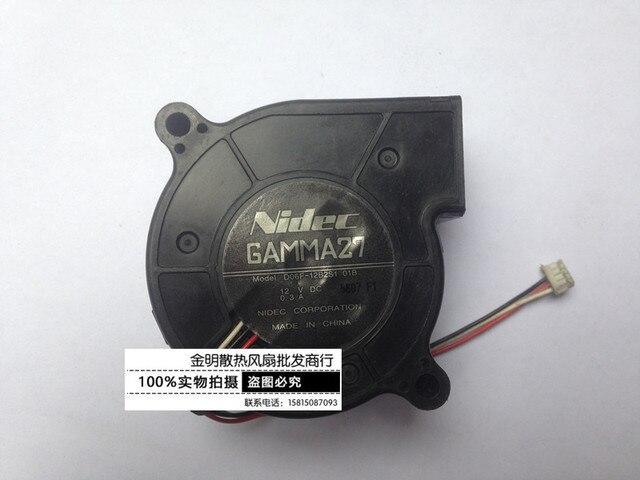 Ventilador Baño | Nidec D06f 12b2s1 01b 12 V 0 3a Banco 3 Wire Ventilador Do