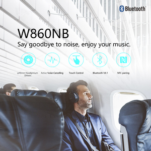 Image 2 - EDIFIER W860NB Bluetooth Headphones ANC Touch control Support NFC pairing and aptX audio decoding Smart Touch wireless earphone