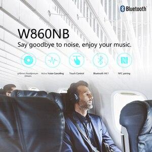 Image 2 - Edifier W860NB Bluetooth Hoofdtelefoon Anc Touch Control Ondersteuning Nfc Pairing En Aptx Audio Decodering Smart Touch Draadloze Oortelefoon