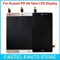 100% nova 5.0 polegada display lcd para huawei p8 lite ale-l04 l21 L23 TL00 CL00 UL00 L02 Tela Sensível Ao Toque LCD + Substituição Da Tela de Toque