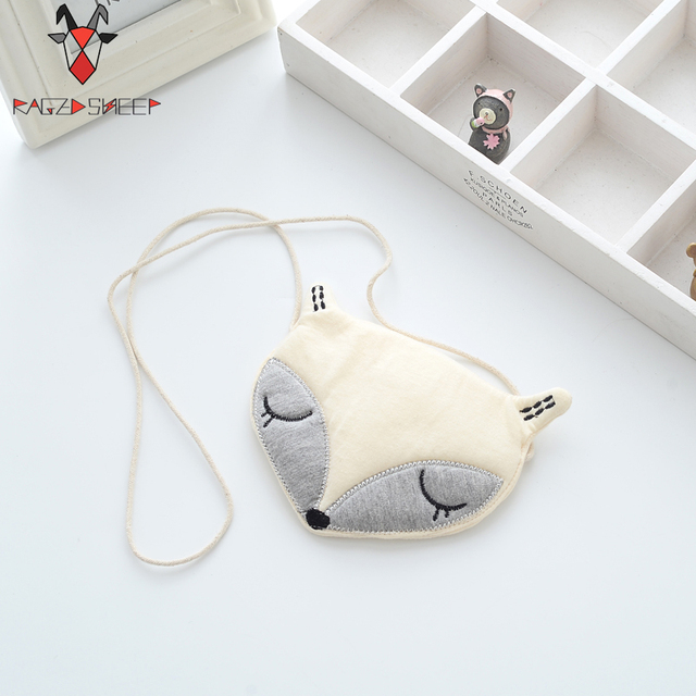 Raged Sheep Lovely Children One Shoulder Bag Kids Coin Purse Cute Fox Girls Messenger Bag Baby Coin Bags