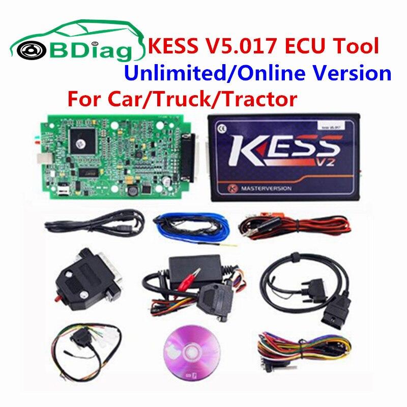 imágenes para Ilimitado/Online V5.017 KESS KESS V2 KESS 5.017 Gerente KTAG V7.020 K TAG ECU Chip Tuning KTAG V2.23 7.020 Apoyo Car/Truck