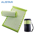 ALISTAR Back and Neck Pain Relief - Acupressure Mat and Pillow Set - Relieves Stress, Back, Neck, and Sciatic Pain Massage H1134