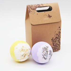 Tsing 120G Jasmine Lavender Bath Bombs Essential Oils Handmade SPA Gift Set  Natural bath bomb   Large Ball Scented    Bath Ball