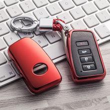 TPU araba anahtarı durumda oto anahtar koruma kapağı Lexus ES/RX/NX/RX200t nx200 araba tutucu kabuk renkli araba şekillendirici aksesuarları