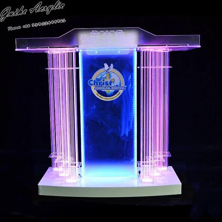 2019 Exquisite Guiiheyun Podium Floor Standing Lectern Church