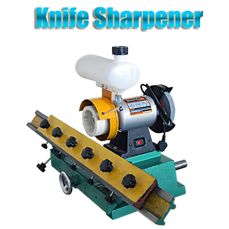 Small Type Woodworking Straight Knife Sharpener Grinding Machine MF206 стоимость