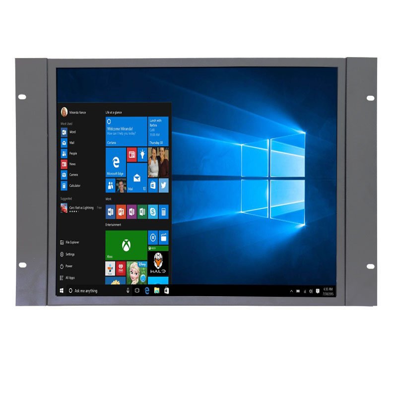 New touch screen monitor industrial 19 inch computer touch screen monitor