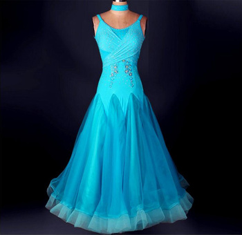 Ballroom Competition Dress Lady's Tango Flamenco Waltz Ballroom Dance Dresses Women High Quality Custom Made Costume