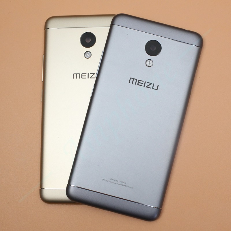 Meizu M3S Original New Spare Parts Back Battery Cover Door Housing For Meizu M3S Side Buttons