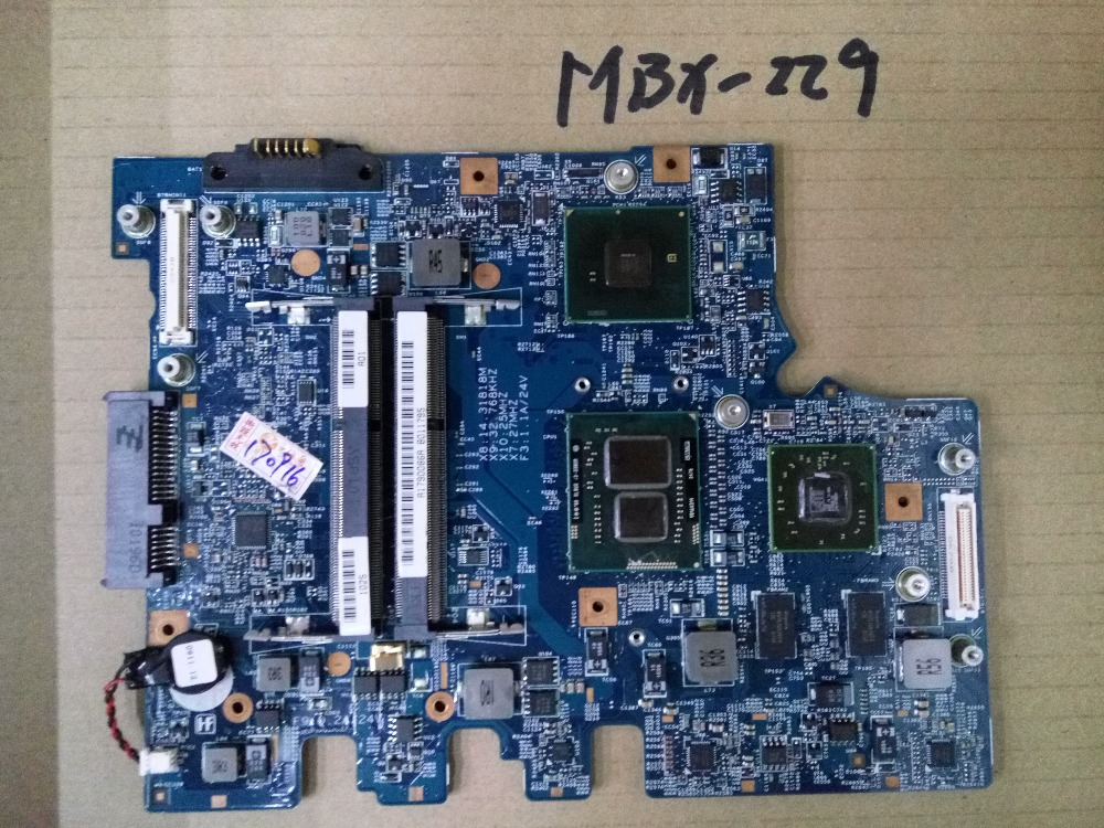 MBX-229 connect with printer motherboard full test lap connect board mbx 216 laptop motherboard for sony vps111fm mbx 216 da0gd3mbcd0 a1767191a for intel cpu with integrated graphics card
