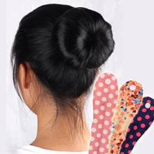 New 1pc Women Girls Lady Fashion Magic Cloth Hair Twist Styling Clip Stick Bun Maker Braid Tool se11(China)
