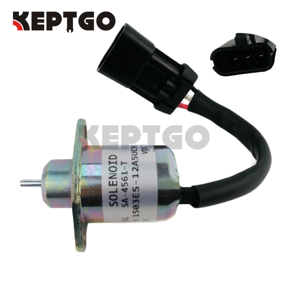 12v FUEL Shutdown Shut Off Stop Solenoid FOR KUBOTA ENGINE Carrier Transicold Supra - Genesis R90 25-15230-0112v FUEL Shutdown Shut Off Stop Solenoid FOR KUBOTA ENGINE Carrier Transicold Supra - Genesis R90 25-15230-01