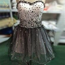 Женское Короткое платье трапеция bealegantom черное коктейльное