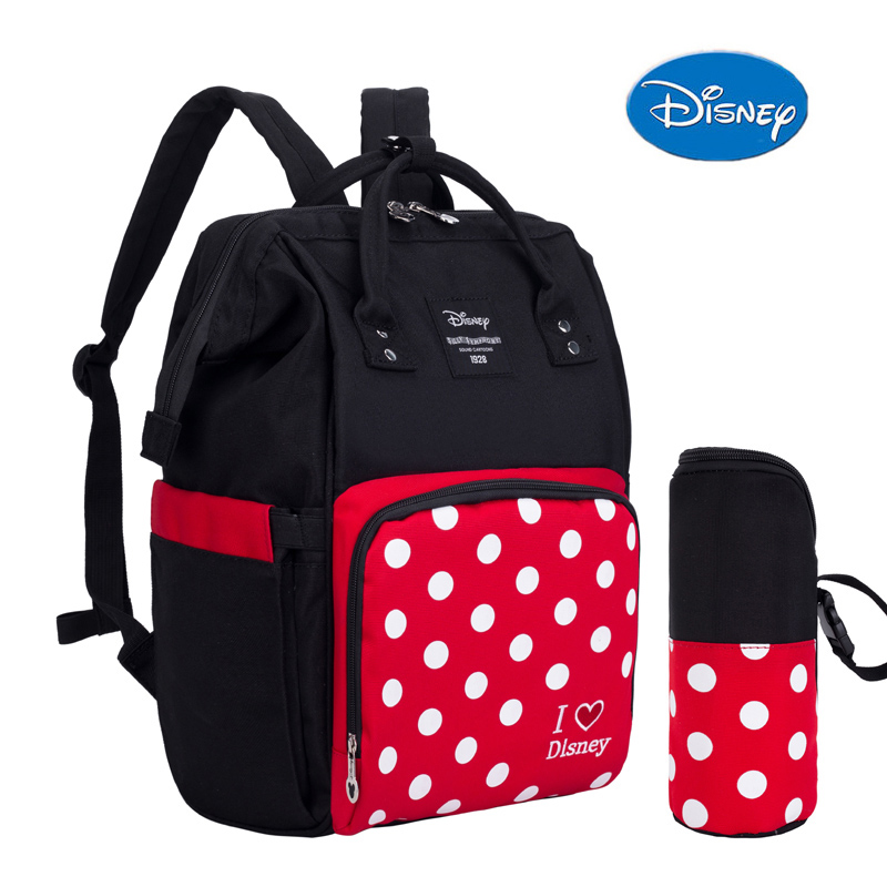 Diaper Bag Backpack Booster Seat Disney Dining Chair Bag Mini Mouse Mickey Mouse Design Waterproof Nursing Baby Nappy Bag New