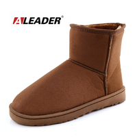 Fashion Men Women Lady Winter Snow Boots Shoes New 2014 Warm Ankle Fur Australia Boots Botas