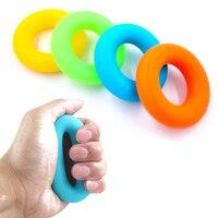 25kg 30kg 35kg Hand Grip Strength Finger Hand Gripper Muscle Power Training Rubber Ring Exerciser Wrist
