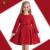 KAMIWA 2016 Jacquard Vestidos Das Meninas Do Bebê Crianças Flor Borboleta Fita A-line Outono Cheio de Crianças Adolescentes Roupas de Algodão Da Criança