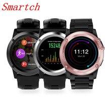 Smartch H1 MTK6572 Bluetooth IP68 Waterproof Smartwatch with Camera SIM Support GPS/ WIFI Heart Rate Health Tracker Smart watche
